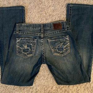 BKE Stella stretch jeans sz 26, mint condition
